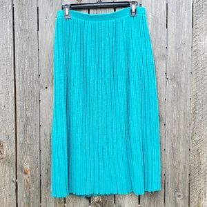 (Vintage) pleated sweater skirt